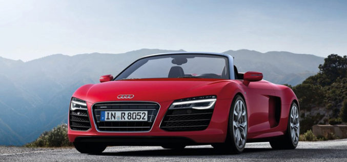 Novi Audi R8 V10 Spyder