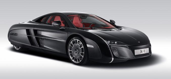 McLaren X-1 – Unikatni sportista