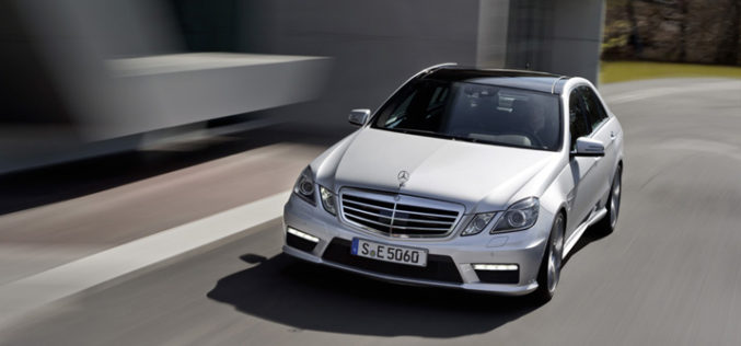 Mercedes-Benz E63 AMG 5.5L V8 biturbo