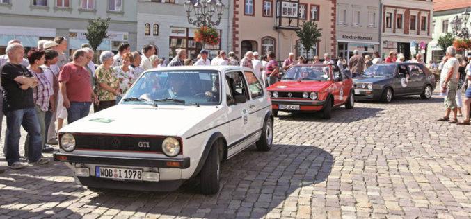 Volkswagenovi klasičari na reliju kroz Saksoniju