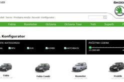 Škoda 3D konfigurator