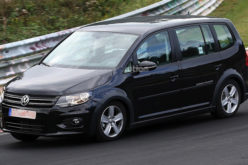 Novi VW Touran – Spy photo