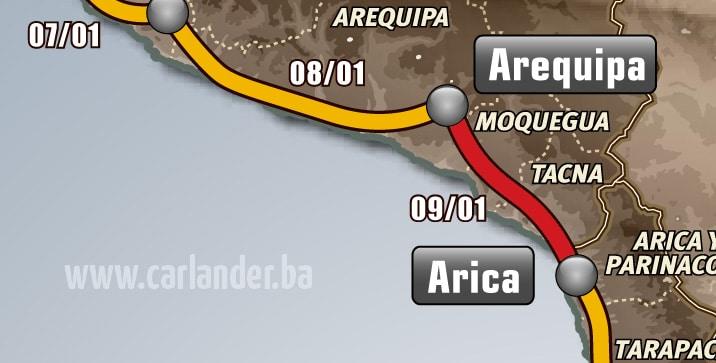 Dakar rally 2013: Etapa 5.