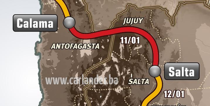 Dakar rally 2013: Etapa 7.