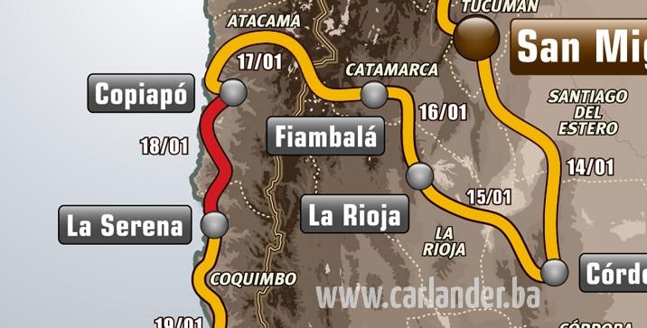 Dakar rally 2013: Etapa 13.