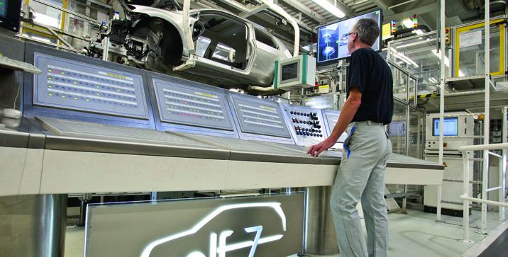 Volkswagen Werk Wolfsburg/Produktion Golf