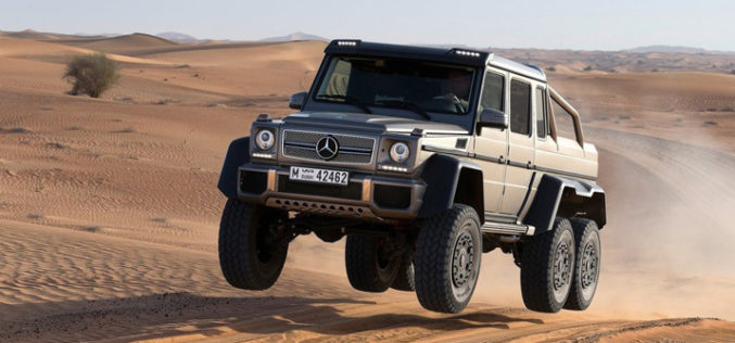 Mercedes-Benz G63 AMG 6×6 Connect