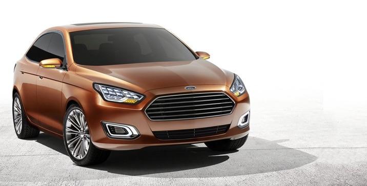 Ford Escort Concept 2013