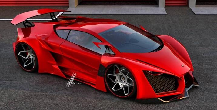 Lamborghini Sinistro koncept
