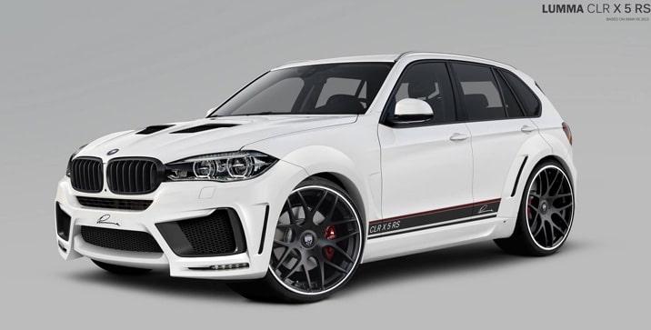 BMW-X5 2014 by Lumma Design