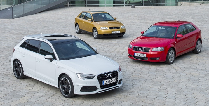 Drei Millionen Audi A3 ?  Bestseller aus Ingolstadt