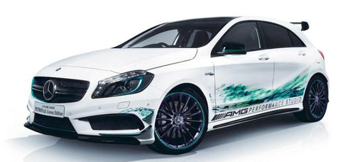 Predstavljen Mercedes A45 AMG Petronas Green Edition