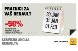 Renault originalni rezervni dijelovi u pola cijene