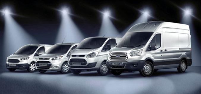 Nagrade za Fordova privredna vozila u 2013. godini