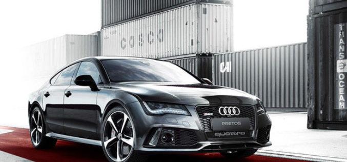 Audi RS7 Sportback by PRETOS sa novim twin turbo 4.0 V8 TFSI agregatom