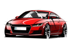 Audi objavio zvanični crtež novog TT modela
