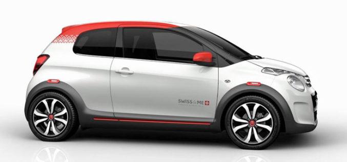 Citroën C1 Swiss & Me konceptni automobil