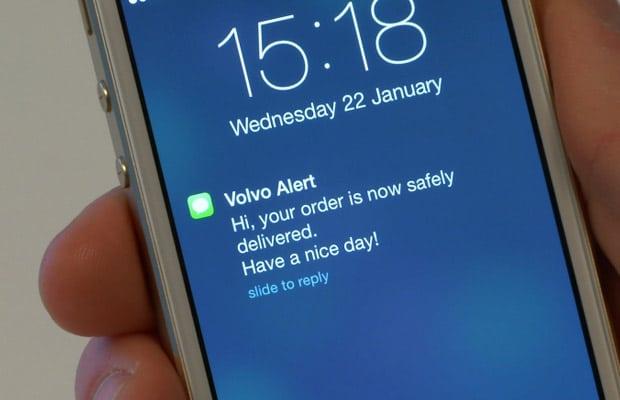 Direktna dostava u Volvo automobil 4