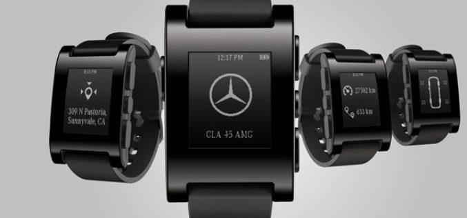 Mercedes-Benz najavio strateško partnerstvo sa Pebble Technology