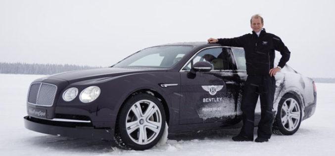 Novi Bentley Flying Spur na ledu