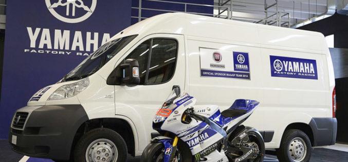 FIAT Professional službeni sponzor Yamaha Factory Racing Teama
