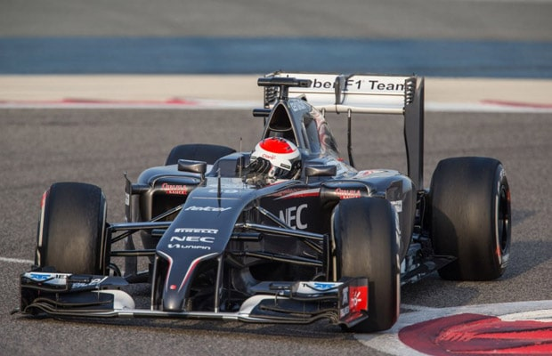 sauber sutil  -bahrain - test - 2014-886x590