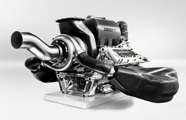 Renault Energy F1-2014 Power Unit Photos
