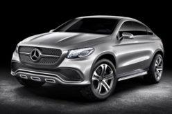 Mercedes Concept Coupe SUV kao direktni konkurent BMW X6 modelu