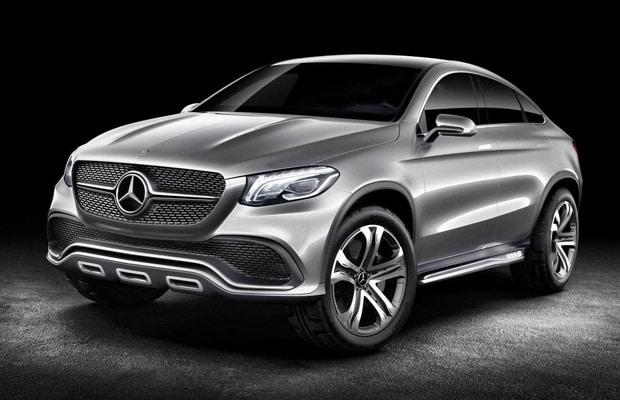 Mercedes Concept Coupe SUV 2014