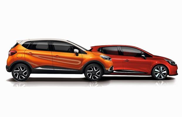 Renault Captur & Clio