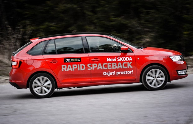 Test08 Skoda Rapid Spaceback 1.2 TSI Elegance