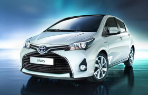 Toyota Yaris facelif 2014