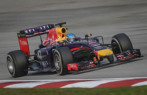 red bull vettel sepang 2014 race