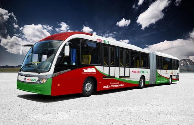 Autobusi Scania za Mexico City