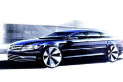 Novi Volkswagen Phaeton kao rival Chrysler 300 i Ford Taurus modelima