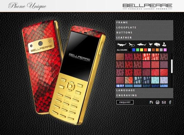 Bellperre luksuzni mobiteli 01