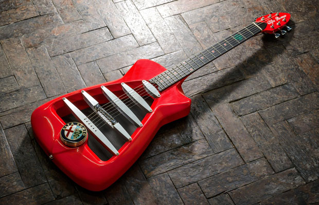 The Alfa Romeo by Harrison Custom Guitars 2