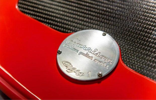 The Alfa Romeo by Harrison Custom Guitars 6