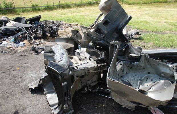 Dijelovi ukradenih automobila na Sokocu 2014 - 01