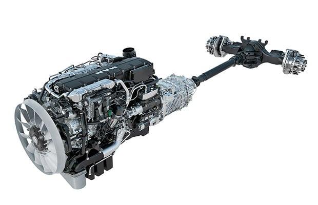 Новый турбодизельный двигатель D38 объемом 15,2-литра