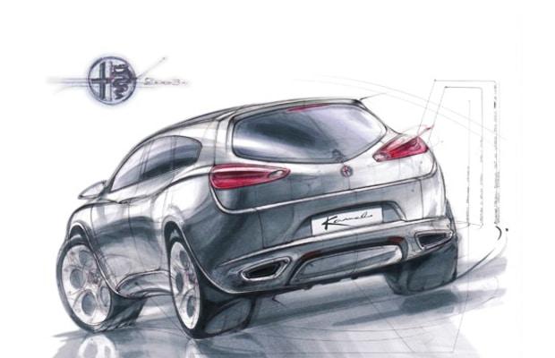 Alfa Romeo Crossover 2016
