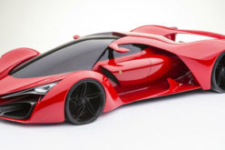 Ferrari F80 – Virtuelna studija cestovnog bolida