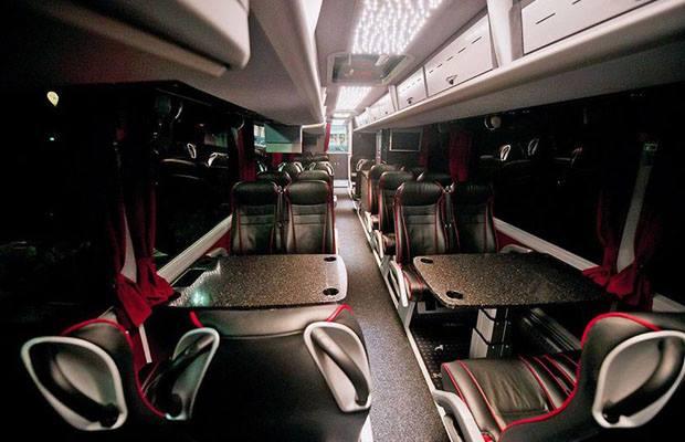 Novi timski autobus FC Bayern Munchen - Autobus MAN 03