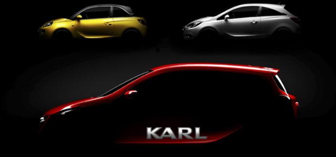 Opel Karl – Novi mali automobil