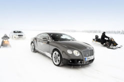 Bentley Continetal GT3 – Power on Ice