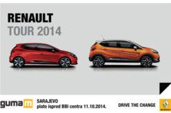 Renault i Dacia Tour u Sarajevu
