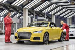 Audi TT Roadster 2015. model ušao u proizvodnju u Mađarskom proizvodnom pogonu