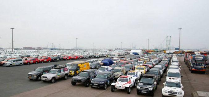 Pripreme za Dakar 2015. – Kolona vozila od 4,6 km čeka na utovar!