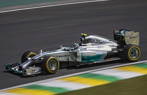 Nico Rosberg, Mercedes, Interlagos, Friday practice, 2014