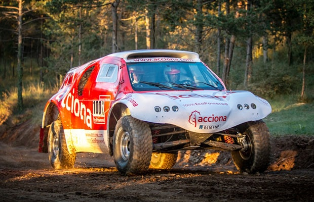 ACCIONA EcoPowered Dakar 2